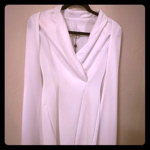 Club L cape blazer dress